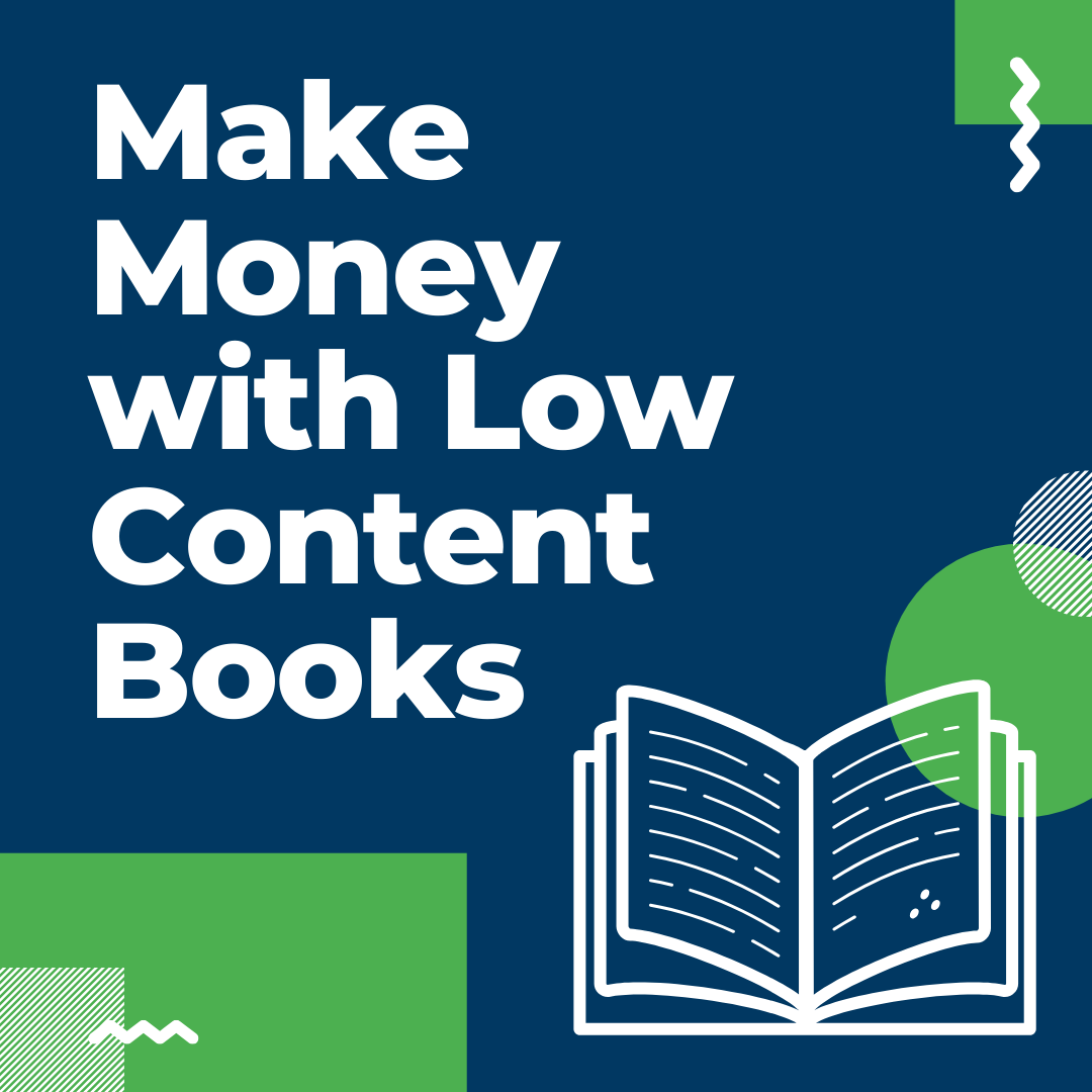 How to Make Money With Low Content Books